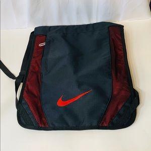 Nike Black Red Lightweight Backpack